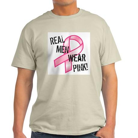 Real Men wear Pink Light T-Shirt