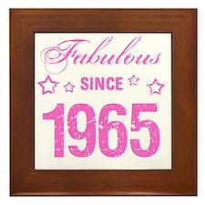 Fabulous Since 1965 Framed Tile