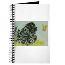 Chow Chow Dog with Butterfly Journal