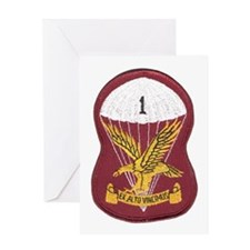 S.A. 1st Para Battalion Greeting Card