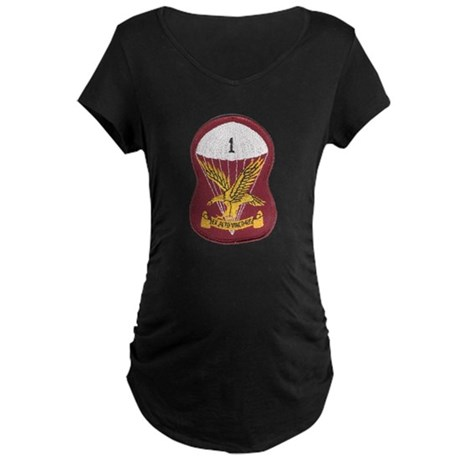 S.A. 1st Para Battalion Maternity Dark T-Shirt