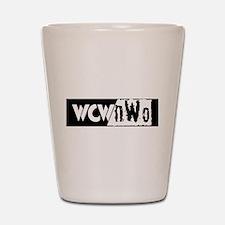 wcw Shot Glass