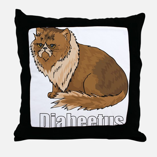 Cute Pwned Throw Pillow