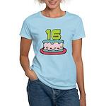 16 Year Old Birthday Cake Women's Light T-Shirt