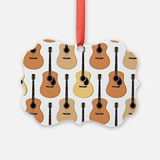 Acoustic Guitars Pattern Ornament