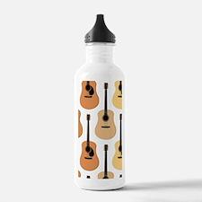 Acoustic Guitars Patte Water Bottle