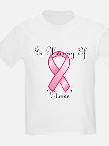 In Memory (pink ribbon) T-Shirt