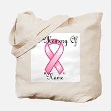 In Memory (pink ribbon) Tote Bag