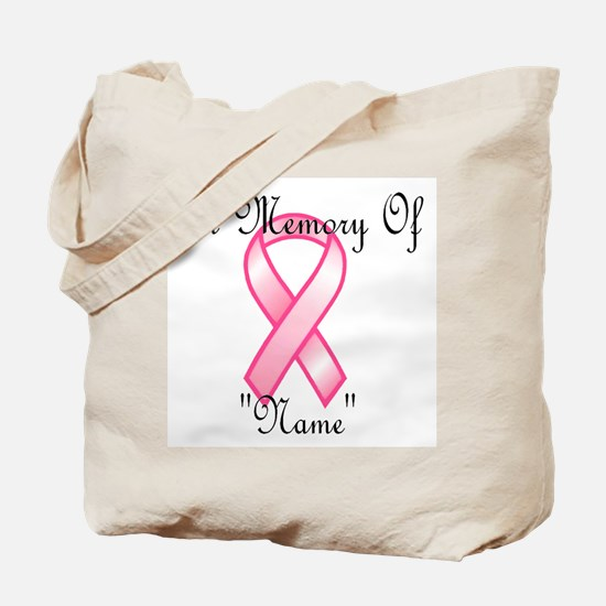 In Memory (pink ribbon) Tote Bag