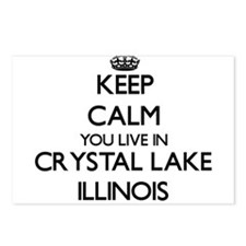Keep calm you live in Cry Postcards (Package of 8)
