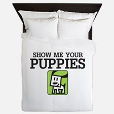 Show me your Puppies Queen Duvet