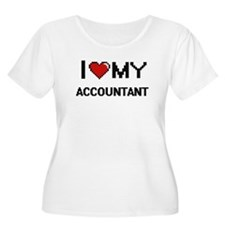 I love my Accountant Plus Size T-Shirt