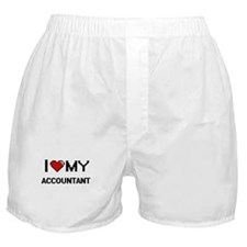 I love my Accountant Boxer Shorts