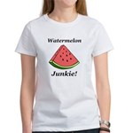 Watermelon Junkie Women's T-Shirt