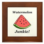 Watermelon Junkie Framed Tile