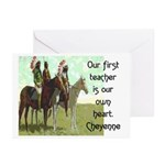 OUR FIRST TEACHER Greeting Cards (Pk of 20)