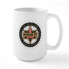 Naram57 Sheriff's Star Mucho Grande Coffee Mug