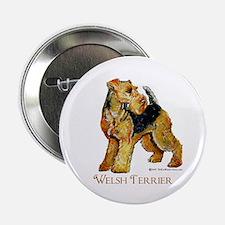 Welsh Terrier Design Button