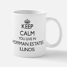 Keep calm you live in Hoffman Estates I Mug