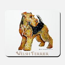 Welsh Terrier Design Mousepad