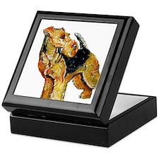 Welsh Terrier Design Keepsake Box