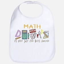 Math: It's Not Just For Boys Anymore Bib