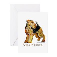 Welsh Terrier Design Greeting Cards (Pk of 10)