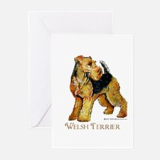 Welsh Terrier Design Greeting Cards (Pk of 10)