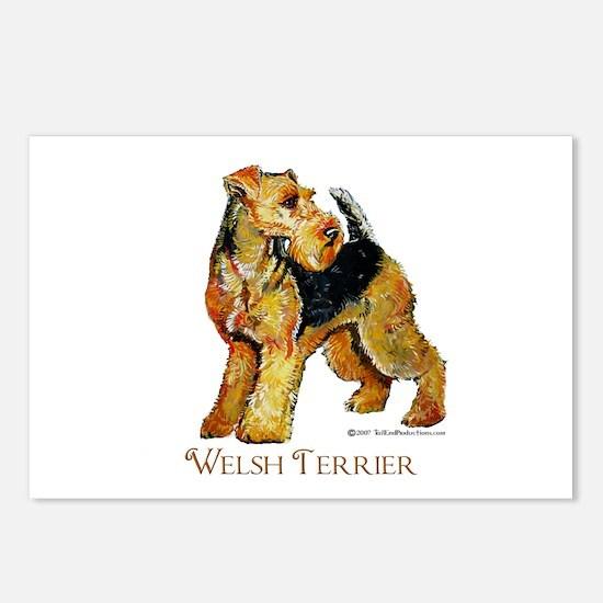 Welsh Terrier Design Postcards (Package of 8)