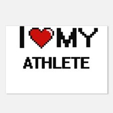 I love my Athlete Postcards (Package of 8)