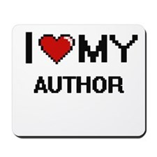 I love my Author Mousepad