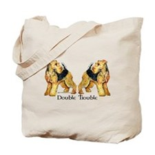 Welshie Double Trouble Tote Bag