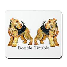 Welshie Double Trouble Mousepad