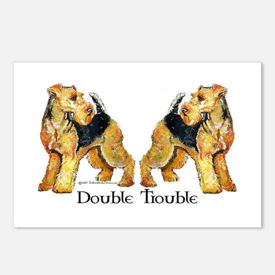 Welshie Double Trouble Postcards (Package of 8)