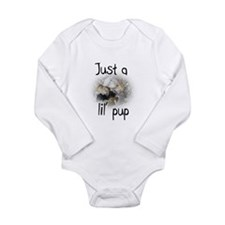 Cute Little Long Sleeve Infant Bodysuit