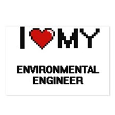 I love my Environmental E Postcards (Package of 8)