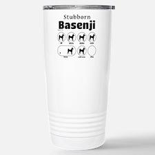 Stubborn Basenji 2 Travel Mug