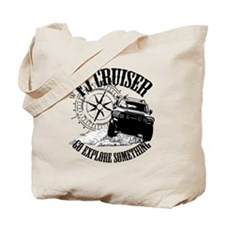 FJ Cruiser, Go Explore Something Tote Bag