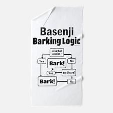 Basenji Logic Beach Towel
