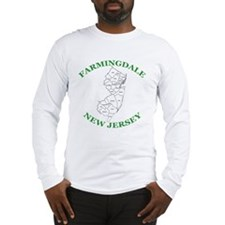 Farmingdale New Jersey Long Sleeve T-Shirt