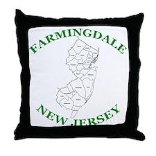 Farmingdale New Jersey Throw Pillow
