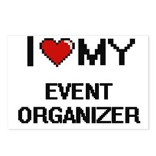 I love my Event Organizer Postcards (Package of 8)