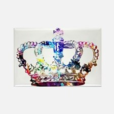Cute Crown Rectangle Magnet