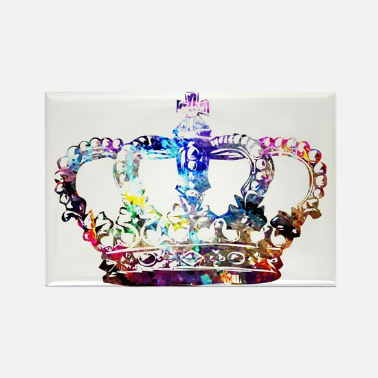 Cute Crown royal Rectangle Magnet