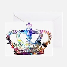 Cute Crown Greeting Card