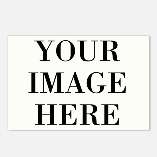 Your Photo Here Design Postcards (Package of 8)