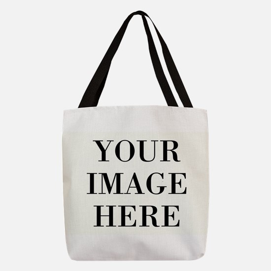 Your Photo Here Design Polyester Tote Bag