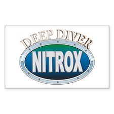 Nitrox Deep Diver Rectangle Decal