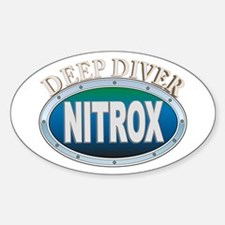 Nitrox Deep Diver Oval Decal