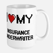 I love my Insurance Underwriter Mugs